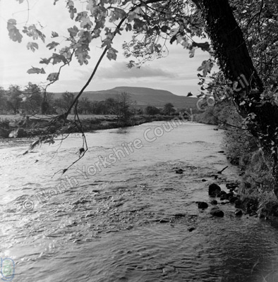 River Ure and Penhill